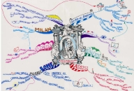 Life Work of Giotto Mind Map by Elaine Colliar